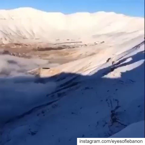صباح الخير من بشري Have a blessed sunday 😍Video by @najib.ghr・・・Our... (Bcharré, Liban-Nord, Lebanon)